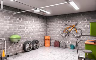 garage remodeling Seiling