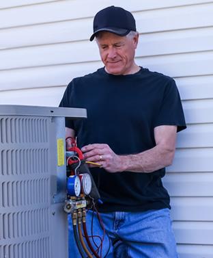 heating hvac 28105 contractors