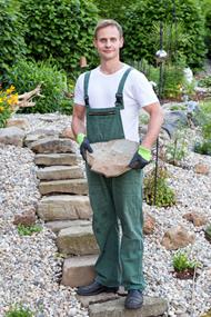 landscaping Romney