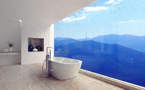 bathroom remodel White-City